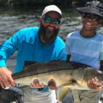 huge snook trip